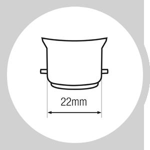 Baîonnette (B22)