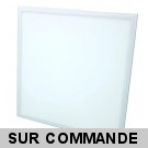 Dalle LED Plafonnier extra plat 40W 600x600mm Blanc Neutre complete avec alimentation Lifud