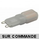 Ampoule led G9 2 watt (eq. 20watt) 2700K Blanc Chaud Compatible Variateurs