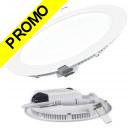Spot Encastrable LED Downlight Panel Extra-Plat 12W Blanc Neutre 4200-4500K
