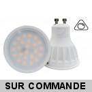 Ampoule 24 SMD Led GU10 5W Compatible Variateurs, Blanc Lumière du Jour 6000K