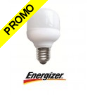 Ampoule économie d'énergie Mini-Fluo sphérique 7W culot à vis E27 220-240V