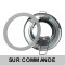 Spot Bain et Douche Etanche IP44 Blanc pour ampoule GU10 220V