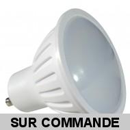 Ampoule Led Spot GU10 5W Blanc Chaud 3000K - Eclaire Comme 50W Halogène 120°