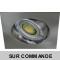 LOT DE 15 SPOT LED CARRE 230V ALU BROSSE 5W RENDU 50W BLANC NEUTRE