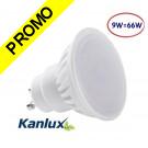 Spot LED GU10 9W TEDI MAX de Kanlux angle 120°, eq 66 Watts (900 lumens) 6000K