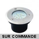 Spot Ronde Inox Led SMD Blanc Froid 6200-6600K Etanche ip66 Gordo