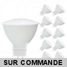 Lot de 10 Ampoules LED SMD Blanc Neutre GU5.3 12V AC 5W 400 Lumens 120°