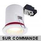 Spot BBC Orientable diametre 100mm avec douille GU10 automatique et ampoule Led 5W eq. 50W ref. 8025