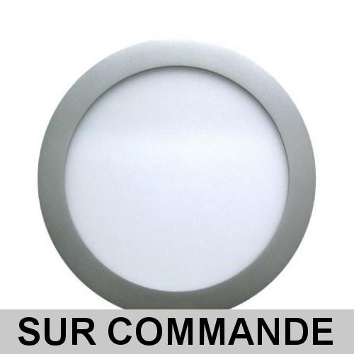 ccf68a00c3a56 Plus de vues. Spot Encastrable LED Downlight Panel Argent 7W Blanc Neutre  4200- ...