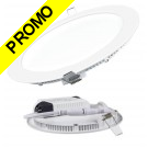 Spot Encastrable LED Downlight Panel Extra-Plat 18W Blanc Neutre 4200-4500K