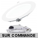 Spot Encastrable LED Downlight Panel Extra-Plat 18W Blanc Neutre 4200-4500K