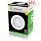 Lot de 25 Spot Led Encastrable Complete Blanc Orientable lumière Blanc Neutre eq. 50W ref.888