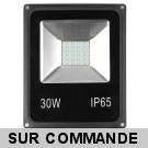 LED Projecteur Lampe 30W  6000K IP65 Extra Plat