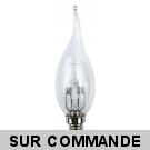 Ampoule Flamme halogène à économie d'énergie décoratif 36W (28W) 220-240V petite culot à visse e14 -30% Eco 220-240V