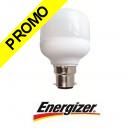 Ampoule économie d'énergie Mini-Fluo sphérique 7W culot à baïonnette B22 220-240V
