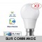 Lot de 6 Ampoules LED V-TAC Culot B22 10W (éq. 60W) 806lm angle 200° lumière blanc neutre 4500K