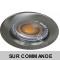 Spot Led Encastrable Fixe Ronde Alu brossé 5W COB Led Rendu 50W