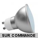 Ampoule Led GU10 18 SMD Blanc Lumière du Jour - Eclaire Comme 50W Halogène, Diffusion 120°