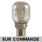 Ampoule spéciale pour four Culot E14 300° 25W, 220-240V