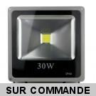 LED Projecteur Lampe 30W 6000K IP66 Extra Plat