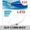 Lot de 10 Spot Encastrable LED Downlight Panel Extra-Plat 18W Blanc Froid 6000K