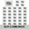 LOT DE 15 SPOT LED CARRE BLANC 230V 5W 38° RENDU eq. ENV 50W BLANC NEUTRE