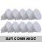 Pack de 10 Spot LED GU10 Blanc Froid 6000K 9W eq 66W  par Kanlux 120°