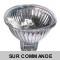 Lot de 5 Ampoules dichroique halogène MR16 GU5.3 12V 20W 3000h