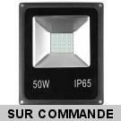 LED Projecteur Lampe 50W  6000K IP65 Extra Plat