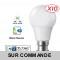 Lot de 10 Ampoules LED V-TAC Culot B22 10W (éq. 60W) 806lm angle 200° lumière blanc neutre 4500K