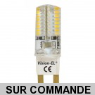 Ampoule Led G9 3 Watt (= 30 watt) de VISION EL Garantie 2 ans