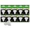 Pack de 10 Ampoules Led GU10 5W Blanc Chaud 3000K eq. 50W Halogène 120°