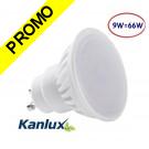 Spot LED GU10 9W TEDI MAX de Kanlux angle 120°, eq 66 Watts (900 lumens) Blanc Chaud 3000K