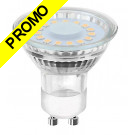 Ampoule Led GU10 5W Blanc Chaud 3000K eq. 50W Halogène 120° Dimmable