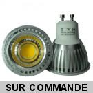 Ampoule LED GU10 5W COB - 3000K 350 Lumens 120° Angle - Eclaire 50W Halogene