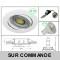 LOT DE 15 SPOT LED RONDE BLANC 230V COB LED 5W RENDU 50W BLANC NEUTRE